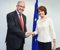 Visite d'Ahmed Aboutaleb, maire de Rotterdam, à la CE