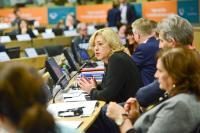 Participation of Corina Creţu, Member of the EC, in the joint REGI-COTER meeting