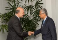 Visit of Pravind Jugnauth, Mauritian Vice-Prime Minister and Minister for Finance and Economic Development, to the EC