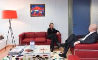 Visit of Nils Muižnieks, Commissioner for Human Rights of the Council of Europe, to the EC