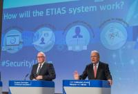 Joint press conference by Frans Timmermans, Vice-President of the EC, and Dimitris Avramopoulos, Member of the EC, on the European Agenda on Security and the proposal of the EC of a European Travel Information and Authorisation System