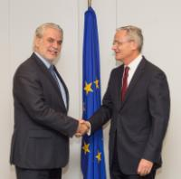 Visit of Elder Patrick Kearon, President of the Europe Area of the Church of Jesus Christ of Latter-day Saints, to the EC