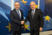 Visit of Mevlüt Çavusoglu, Turkish Minister for Foreign Affairs, to the EC