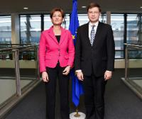Visit of Martina Dalić, Croatian Deputy Prime Minister and Minister for Economy, Entrepreneurship and Crafts, to the EC