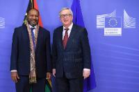 Visite de Charlot Salwai Tabismasmas, Premier ministre vanuatuan, à la CE