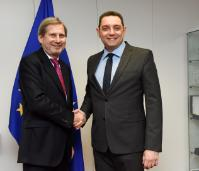 Visit of Aleksandar Vulin, Serbian Minister for Labour, Employment, Veteran and Social Affairs, and Chairman of the Working group in charge of solving the problem of mixed migration flows, to the EC