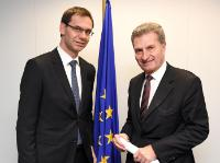 Visit of Markus Wallner, Governor of Vorarlberg, to the EC