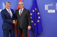Visite d'Almazbek Atambaev, président du Kirghizstan, à la CE