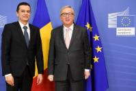 Visit of Sorin Grindeanu, Romanian Prime Minister, to the EC