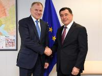 Visit of Vladimir Norov, Head of the Mission of Uzbekistan to the EU, to the EC