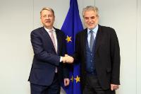 Visit of George Ciamba, Romanian State Secretary for Bilateral and Strategic Affairs in the Euro-Atlantic Space to the EC.