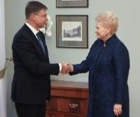 Visit of Valdis Dombrovskis, Vice-President of the European Commission, to Lithuania