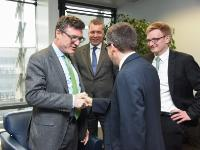 Visit of Stefan Kaufmann, Member of the German Bundestag, to the EC