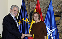 Visit by Christos Stylianides, Member of the EC, to Spain