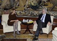 Visite de Christos Stylianides, membre de la CE, en Espagne