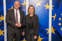 Visit of Johannes Ebert, Secretary General of the Goethe-Institut, to the EC