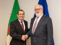 Visit of Noureddine Boutarfa, Algerian Minister for Energy, to the EC