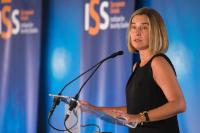 Federica Mogherini, Vice-President of the EC, at the Annual Conference of the European Union Institute for Security Studies (EUISS)