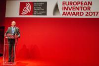 Cérémonie de remise du Prix de l'inventeur européen 2017