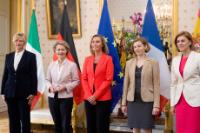 Visit by Federica Mogherini, Vice-President of the EC, to France