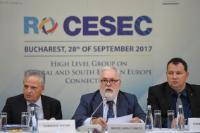 Visite de Maroš Šefčovič, vice-président de la CE, et Miguel Arias Cañete, membre de la CE, en Roumanie