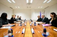Visit by Dimitris Avramopoulos, Member of the EC, to Slovenia