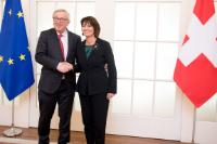 Visit by Jean-Claude Juncker, President of the EC, to Switzerland
