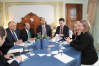 Visite de Federica Mogherini, vice-présidente de la CE, en Italie