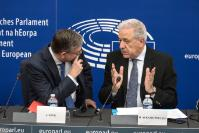 Press conference by Dimitris Avramopoulos, Member of the EC and Julian King, Member of the EC