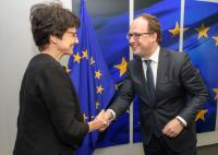 Visit of Wouter Koolmees, Dutch Minister for Social Affairs and Employment, to the EC