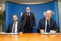 Signature of the Agreement for Cooperation between the European Commission and the Union of European Football Associations (UEFA)