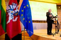Participation of Jean-Claude Juncker, President of the EC, at the Ceremony of the Centennial of the Restoration of the State of Lithuania in the European Parliament, Brussels