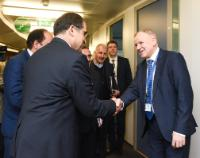 Visit of Hassan  Ghazizadeh Hashemi, Iranian Minister for Health and Medical Education, to the EC