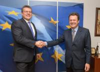 Visit of Carlo des Dorides, Executive Director of the European Global Navigation Satellite Systems Agency (GSA), to the EC