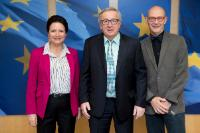 Visit of Pascal Lamy, Honorary President of Notre Europe - Jacques Delors Institute and former Member of the EC in charge of Trade, to the EC
