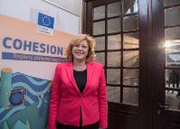 Participation of Corina Creţu, Member of the EC, at the debate 'Cohesion policy - 30 years of success, past and future'