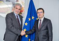 Visite d'Abdullah Ayaz, directeur général faisant fonction de la direction générale pour la gestion des migrations du ministère turc de l'Intérieur, à la CE