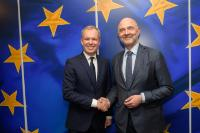 Visit of François de Rugy, President of the French National Assembly, to the EC