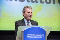 Participation of Günther Oettinger, Member of the EC, at the Juvenes Translatores award ceremony