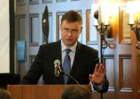 Visit by  Valdis Dombrovskis, Vice-President of the EC, to the United States of America