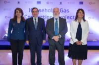 Visite de Miguel Arias Cañete, membre de la CE, en Egypte