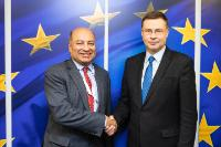Visit of Suma Chakrabarti, President of the European Bank for Reconstruction and Development (EBRD), to the EC