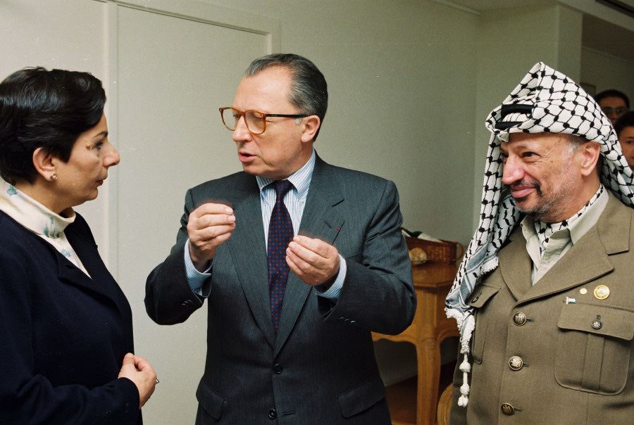 Visit of Yasser Arafat, President of the PLO, to the EC