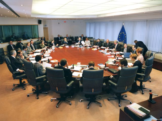 1st meeting of the Santer Commission
