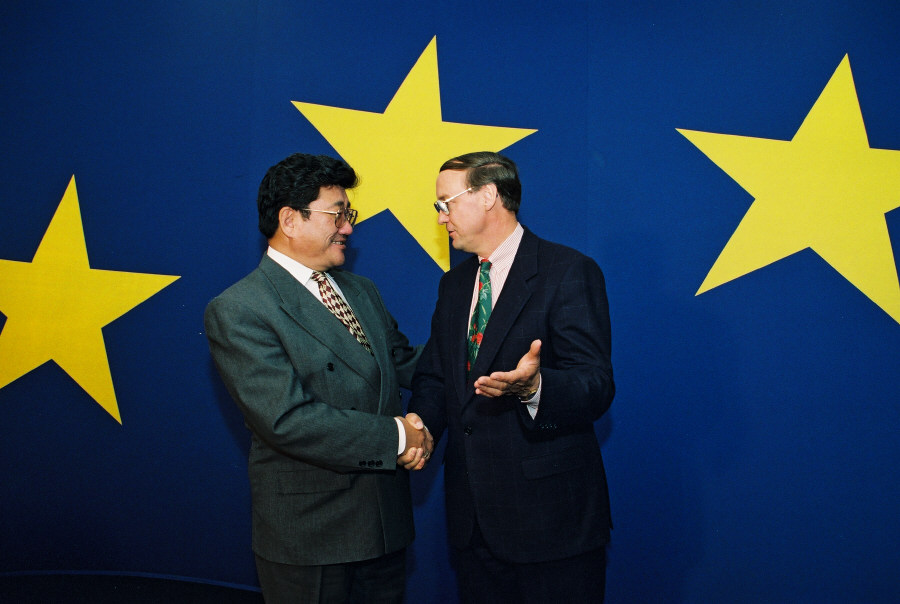 Visit of Punsalmaagiyn Ochirbat, President of Mongolia, to the EC