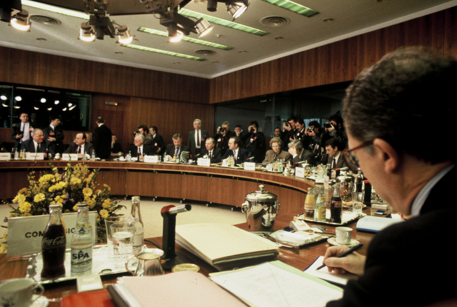 Brussels European Council, 11-12/03/1988