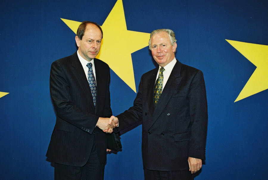 Visit of Josef Tošovský, Czech Prime Minister, to the EC