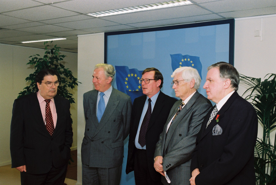 Visit by David Trimble, John Hume and Seamus Mallon, to the EC