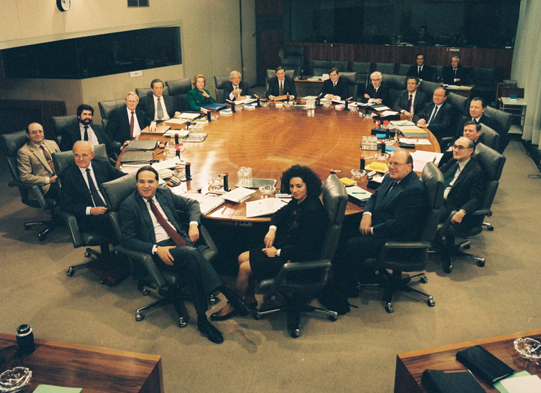 First meeting of the Delors Commission II