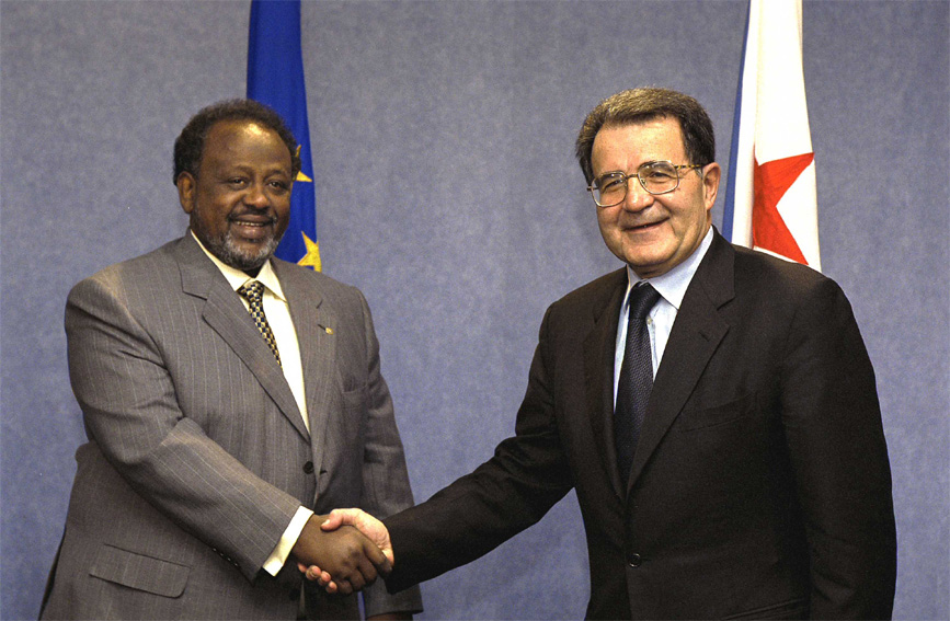 Visit of Ismaïl Omar Guelleh, President of Djibouti, to the EC